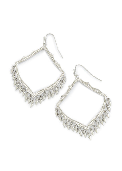 Kendra Scott Lacy Earrings Silver