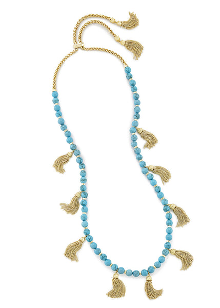 Kendra Scott Vanina Necklace Turquoise