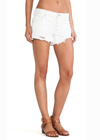 Free People Shark Bite Cut Offs - more colors