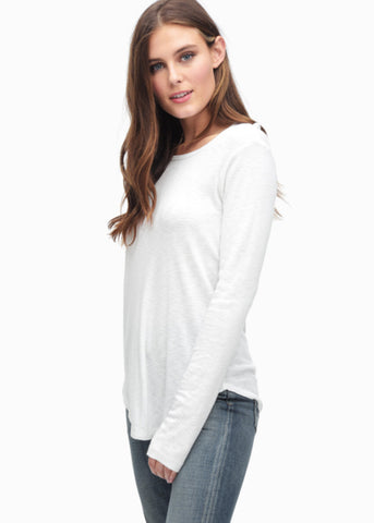 Splendid Slub 1X1 Long Sleeve Tee