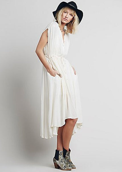 Free People Sweet Talk Shirt Dress