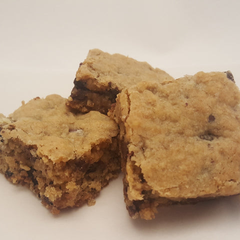 Oatmeal Chocolate Chip Bars - 1 dozen
