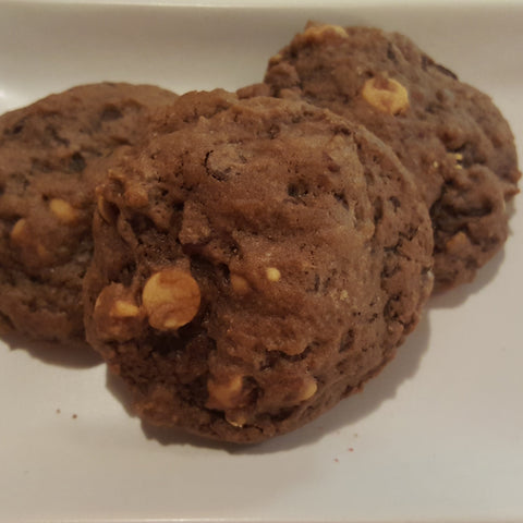 Chocolate Peanut Butter Chip Cookies - 1 dozen