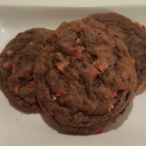 Chocolate Peppermint Chip Cookies - 1 dozen