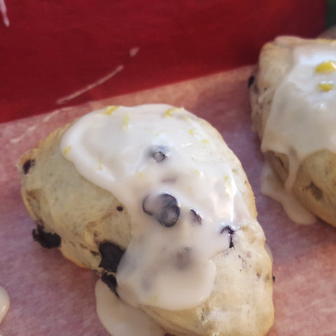 Blueberry Scones - 1 dozen