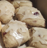 Orange Cranberry Scones - 1 dozen