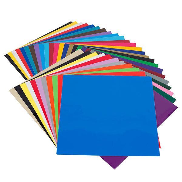Angel Crafts Self Adhesive Vinyl Sheets (35 PACK) - Angel Direct Products - 1