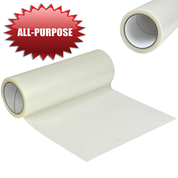 "Angel Crafts 12"" by 100' Premium Clear No Grid Transfer Paper Tape"