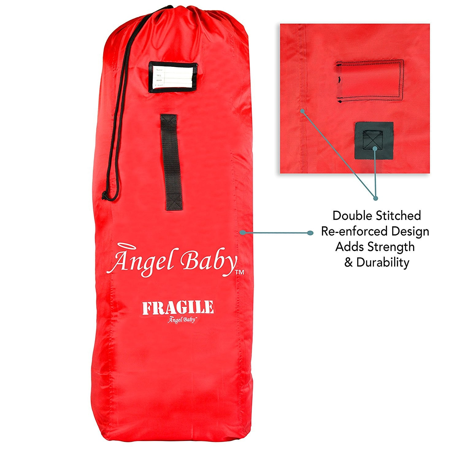 Angel Baby Red Travel Bag for Umbrella Strollers - Angel Direct Products - 3