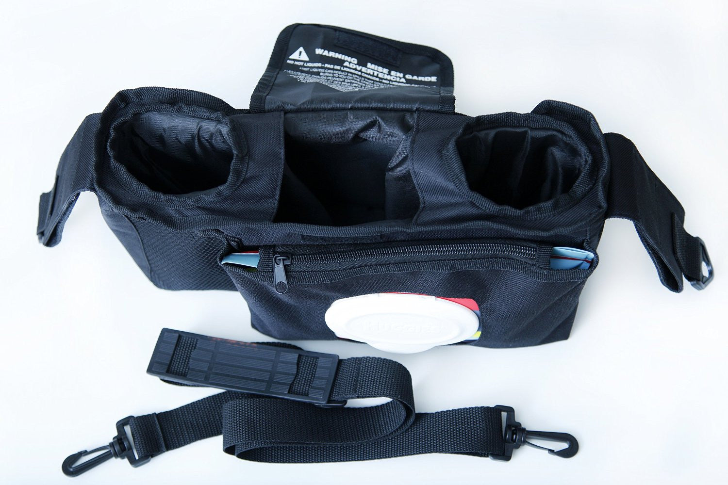 Angel Baby Black Stroller Organizer - Angel Direct Products - 8