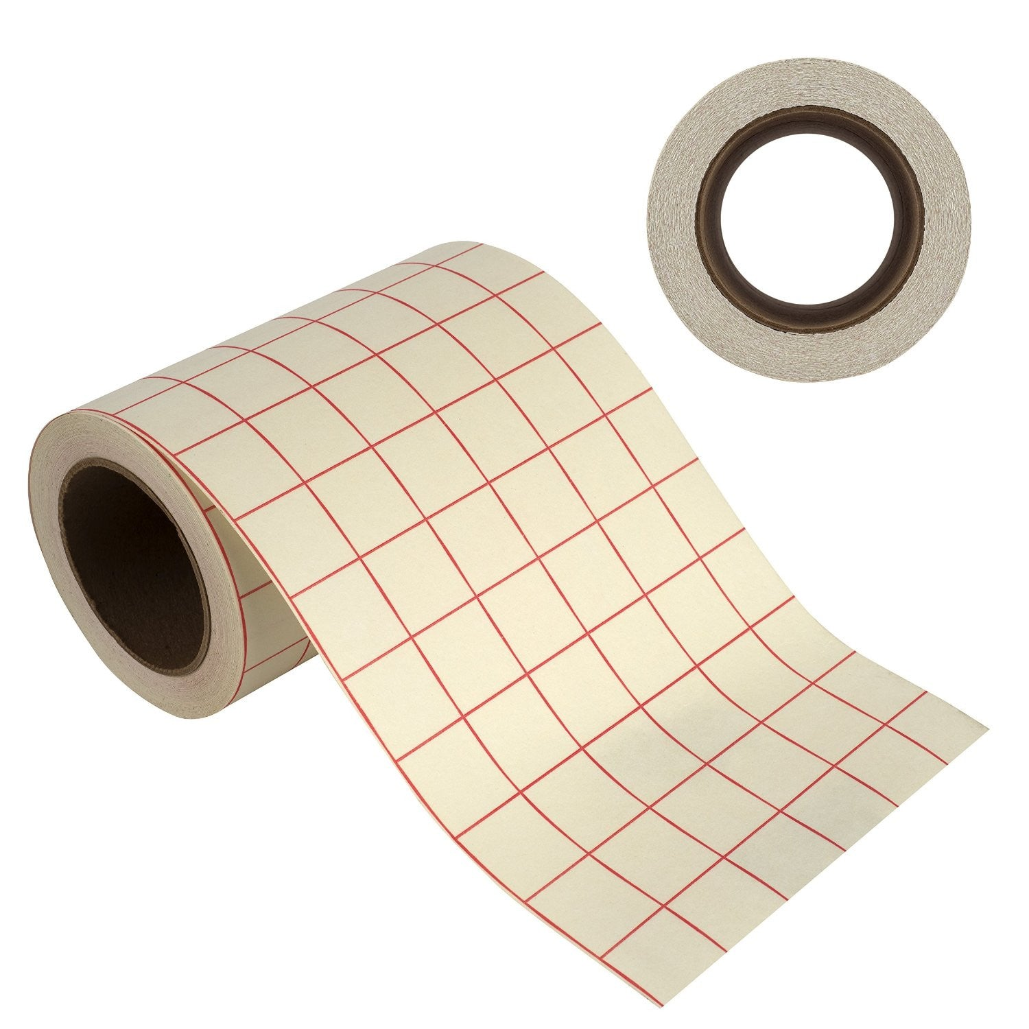 "Angel Crafts 6"" by 50' Transfer Paper Tape Roll w/ Grid - Angel Direct Products - 1"