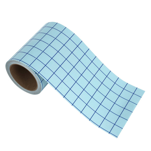 "Angel Crafts 6"" by 50' CLEAR Transfer Paper Tape Roll w/ Grid - Angel Direct Products - 1"