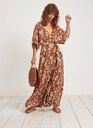Faithfull The Brand Bergamo Maxi Dress