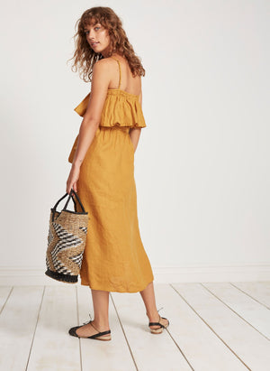 Faithfull the brand Santo Midi Dress