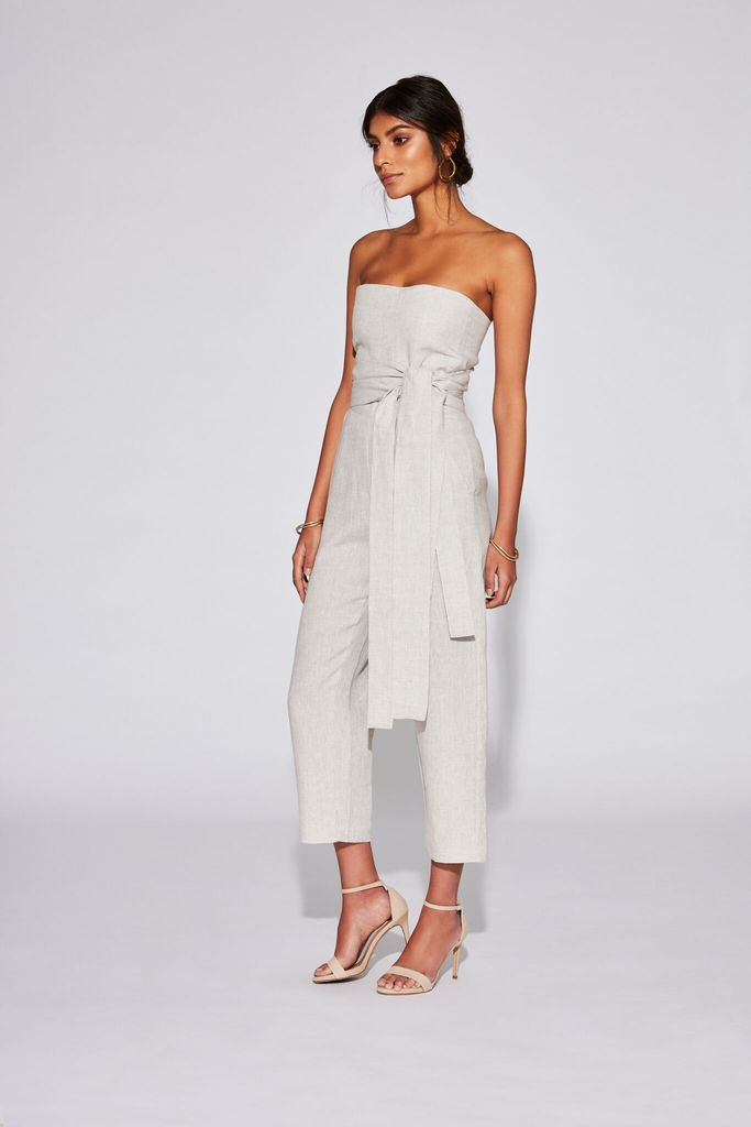 48b358897c SIR the label Ines Strapless Jumpsuit - Style