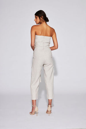SIR the label Ines Strapless Jumpsuit