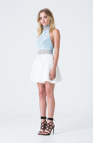 Asilio Cool Allure Crop - Blue
