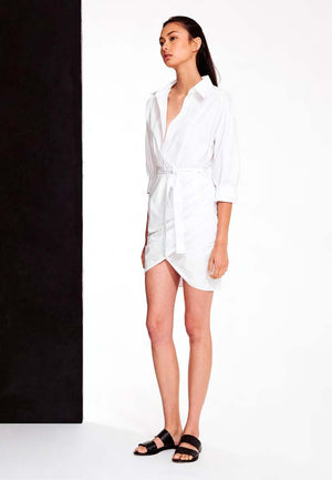 BC White Wash Shirtdress