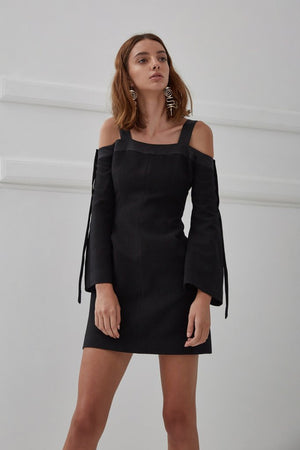 C/MEO Collective Outgrown Long Sleeve Dress