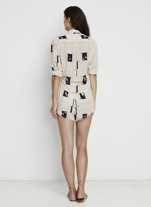 Faithfull the Brand - Hosk Shirt - Sailor Print