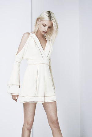 Finders Keepers Unravel Playsuit Shell