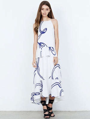 Isla - Billow Maxi Dress