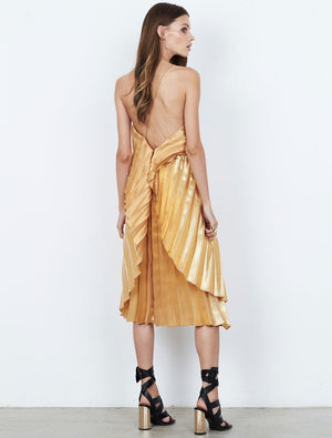 Isla Pleats Please Midi Dress