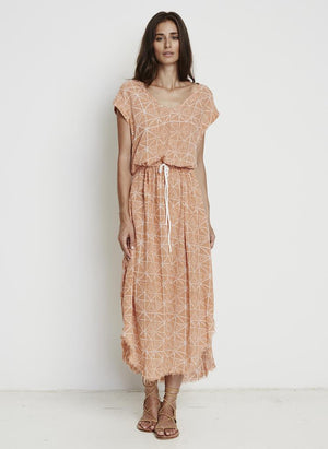 Faithfull the brand - Toby Midi Dress - Bermuda Print