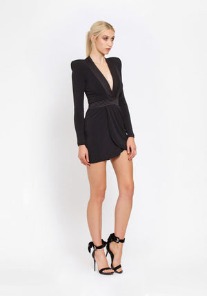 Zhivago Eye of the Horus Mini Dress - Black