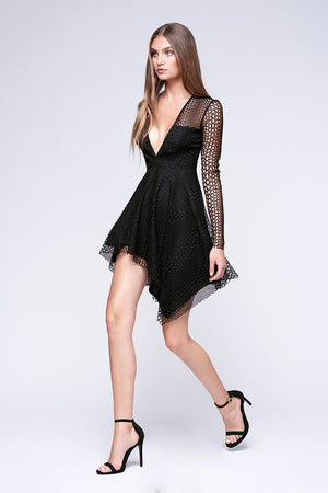 Stylestalker Athena Long Sleeve Dress