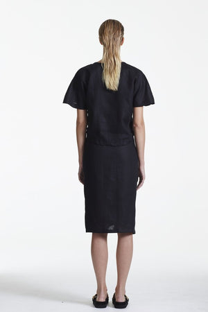 SIR the label Brooke Wrap Skirt