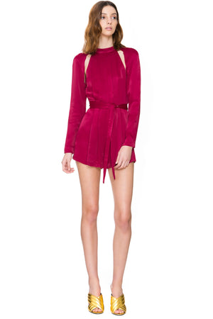 CMEO Cant resist playsuit raspberry