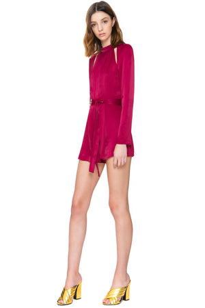 C/MEO Collective Can't Resist Longsleeve Playsuit
