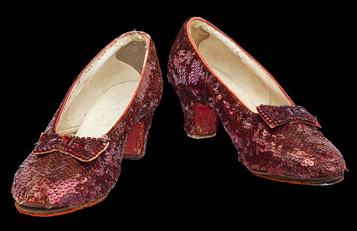 Smithsonian' Ruby Slippers Restoration Goal!