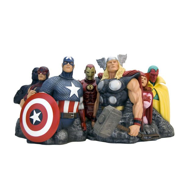 The Avengers - Assemble Alex Ross Fine Art Sculpture