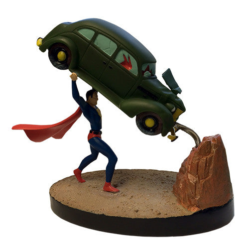 DC Comics - Superman Action Comics #1 Motion Statue