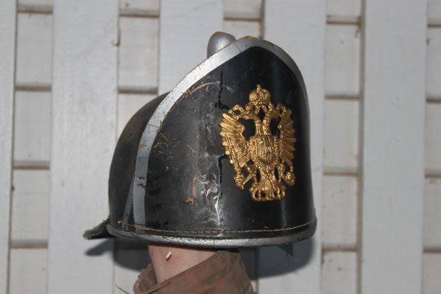 "ORIGINAL HELMET FROM ""A ROYAL SCANDAL"" (1945)"