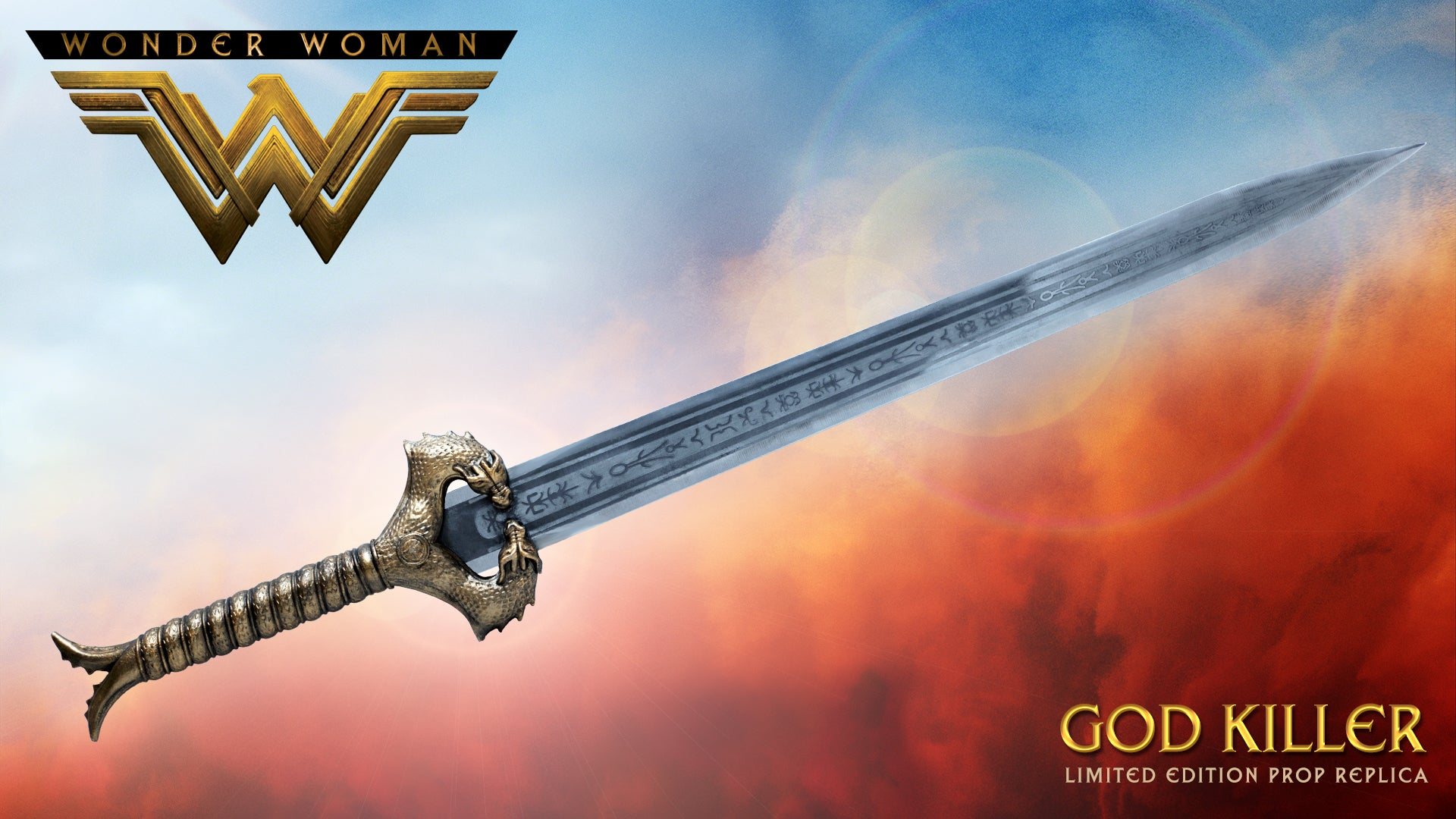 Wonder Woman: Movie - Wonder Woman God Killer Prop Replica Sword
