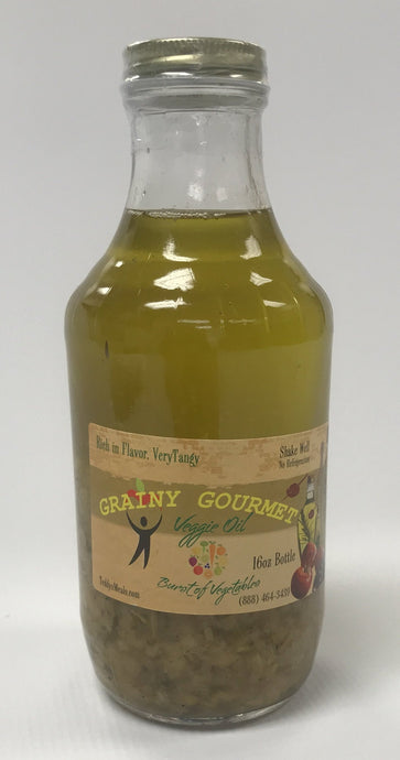 Grainy Gourmet Oil (Raw Vegetable) 16 oz