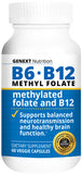 B6 • B12 • FOLATE  Methyl Folate Methyl B12 Energy Clarity