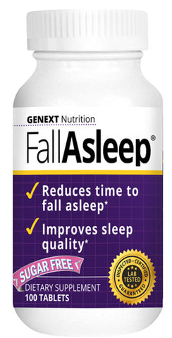 FALL ASLEEP MELTS Fall Asleep Soundly Fast Absorbing 100 Melts - BACK ORDER