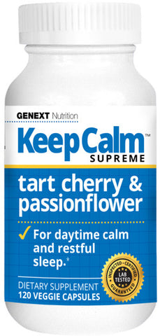 KEEP CALM SUPREME - Anti-Anxiety Tart Cherry & Passionflower Calming & Relaxing