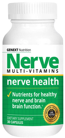 NERVE MULTIVITAMINS - Daily Dose of Vitamins and Minerals For Neuro Health