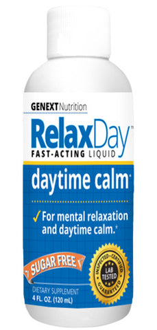 RELAX DAY LIQUID - Liquid Blend Of Powerful Calming and Relaxing Ingredients
