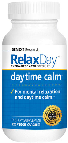 RELAX DAY CAPSULES - Better Mood and Relaxation Day Time