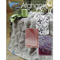 5 Cozy Afghans - Roll Stitch Crochet on a Roll Patterns - Annie's Attic 874016
