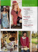Burda VERENA Knitting Spring 2010 Back Issue Magazine - Haute Glamour - Lots of Patterns