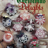 12 Christmas Delights Tree Ornaments Crochet Patterns - The Needlecraft Shop #971028