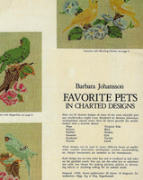 Favorite Pets Charted Designs - Cross Stitching Craft Patterns