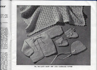 Vintage 60s Knit Patterns for Youngsters Fashion in Wool by Hilde Fuchs Vol 98